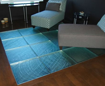 Wanna do something unusual and unique to your flooring? Are you ready to experiment with its look\u2026don\u0027t worry we are not targeting at something weird ... & Glass Floor Tiles from Floor Glass - Hometone - Home Automation and ...