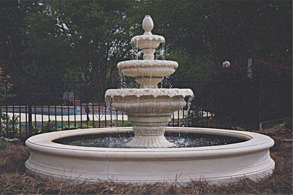 Three Tire Fountain