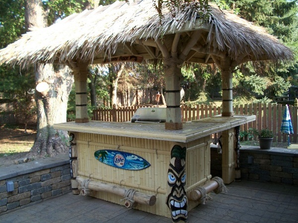 Chill and relax: Pick the right design for your breezy ... on Tiki Bar Designs For Backyard id=25362
