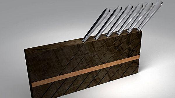 Tilt Knife Block