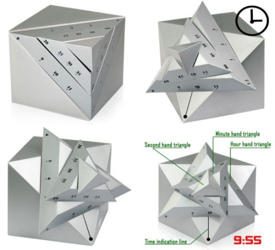 Playfully Cool Time Cube Clock Hometone
