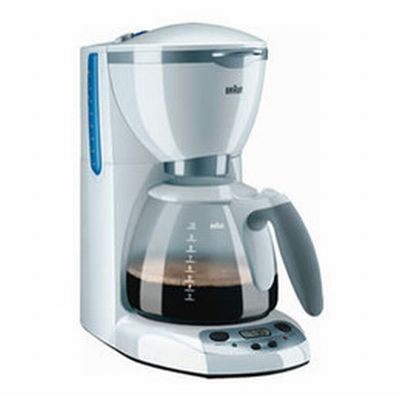 Braun S Premium Coffeemaker Is The Basic Machine With Some Added Invaluable Features Uses Fast Brewing Method That Thoroughly