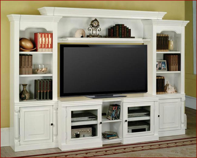 Stylish wooden tv stands - Tv Showcase Design Pictures To Pin On Pinterest