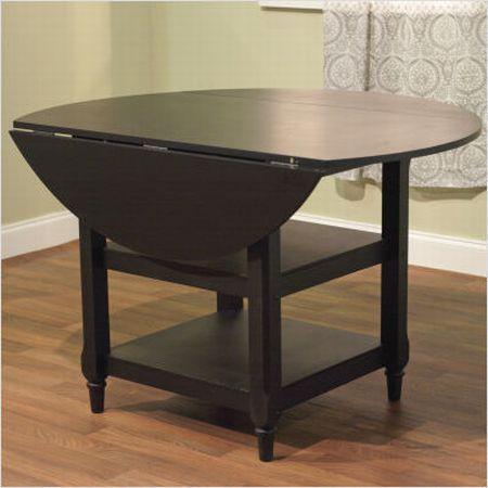drop leaf dining table top 7 styles covered hometone. Black Bedroom Furniture Sets. Home Design Ideas