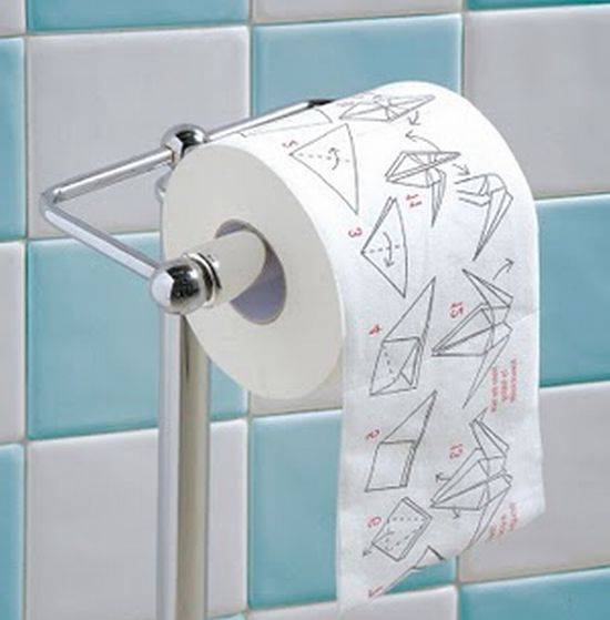 Top 10 whackiest toilet paper designs