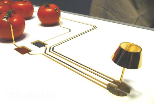 tomato lamp milan 311