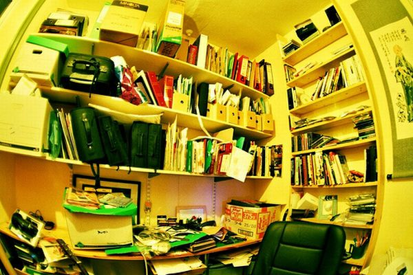 Too much clutter