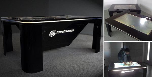Touchscape Multi-Touch coffee table