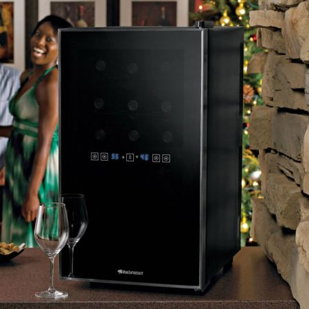 touchscreen wine refrigerator 4