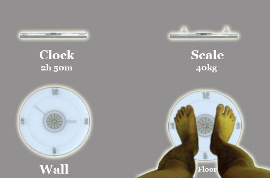 transform clock scale