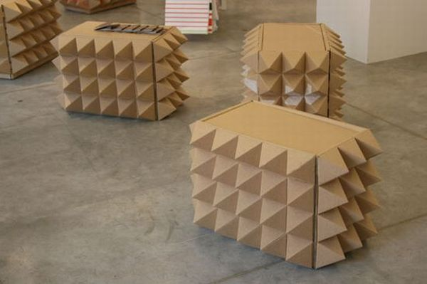 10 Cool Furniture And Home Furnishings Made Out Of Cardboard Hometone