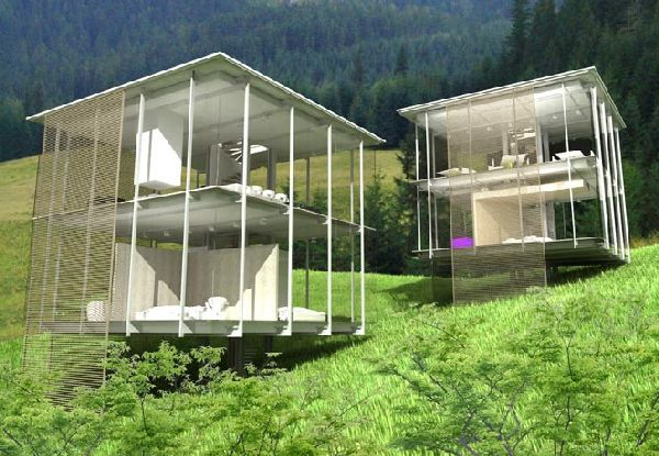 Stunning Transparent Houses Hometone