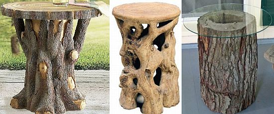 10 Cool Tree Trunk Furniture Pieces Home Improvement What To Do With Tree  Trunk Pieces
