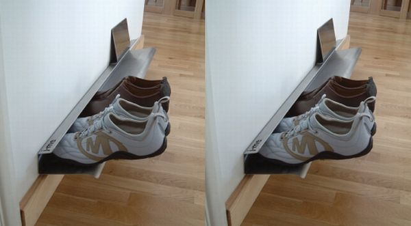 Trouble-Free Shoe Rack