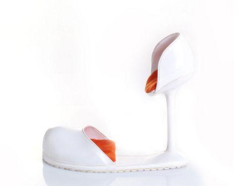tulip shoe chair