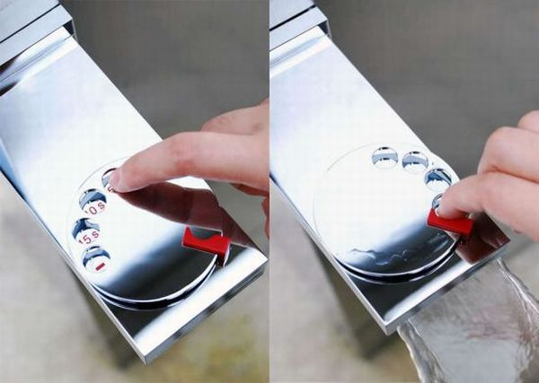 Turn rotary sial faucet