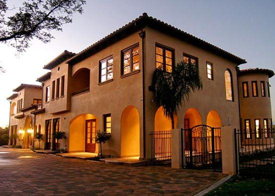 tuscan style mansion6