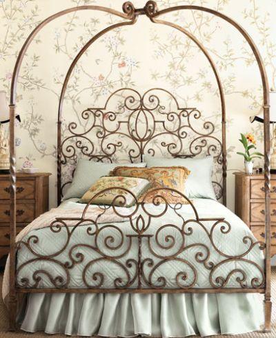 tuscany canopy bed 5
