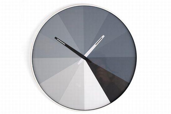 ultra flat clock