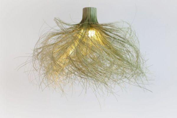 Unique bamboo lamp