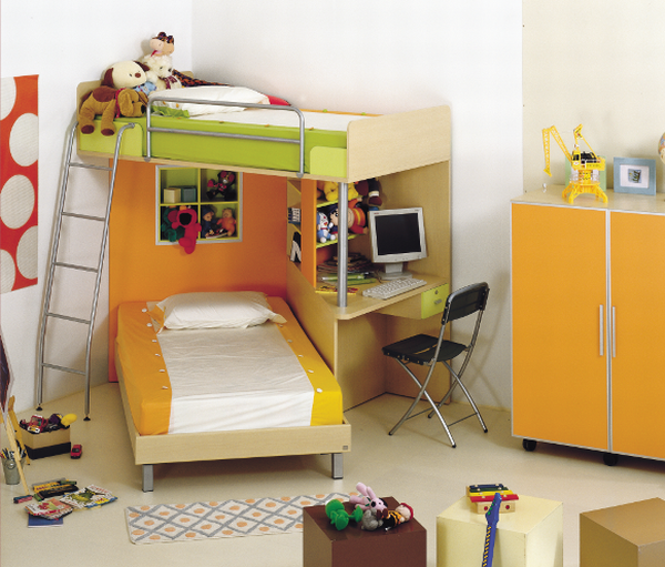 Unique bed for kids by Abea