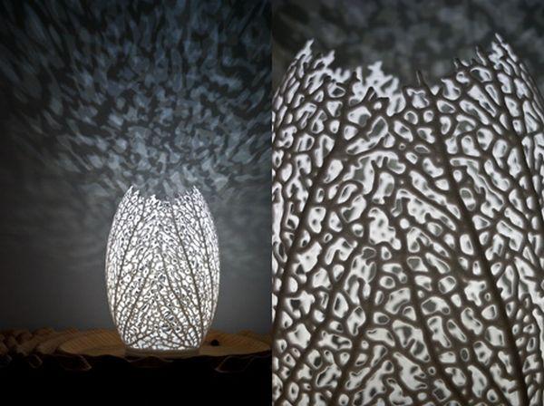 Unique Hyphae Lamp