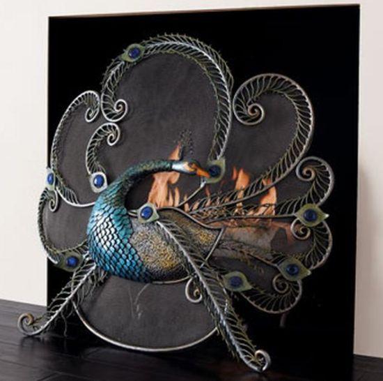 unusual antique fireplaces23