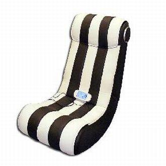 upholstered sofa with speaker