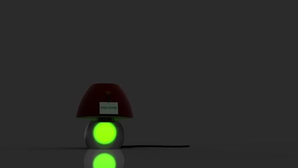 Upsidedown Lamp