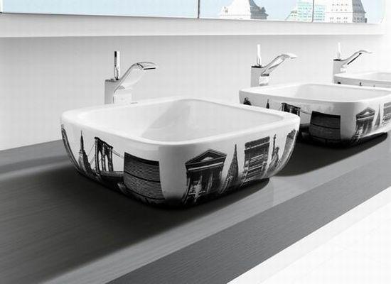 urban bathroom sinks roca1