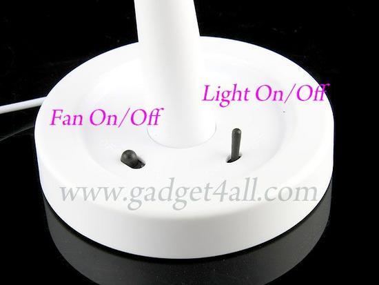 usb fan lamp 6