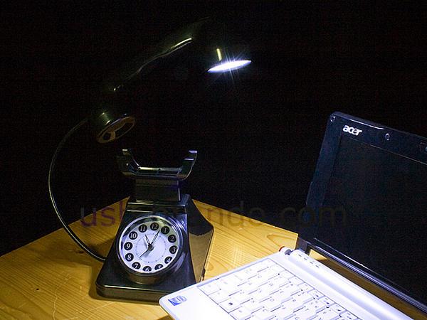 usb telephone light