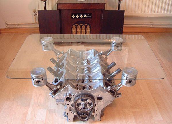 V8 coffee table