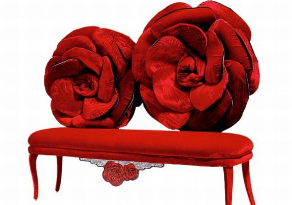 Capture The Beauty Of Roses In Your Drawing Room With Sicis Velvet