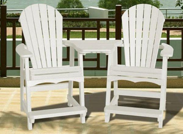 Adirondack Bar Chair Plans