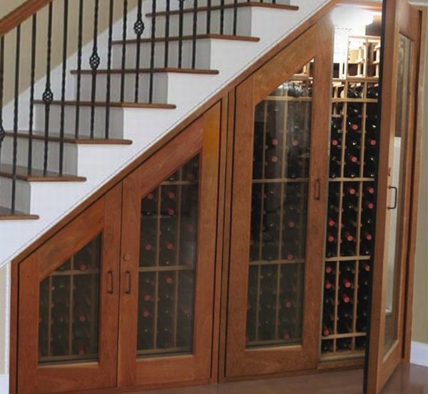 Vinotemp Under Stairs Wine Cabinet