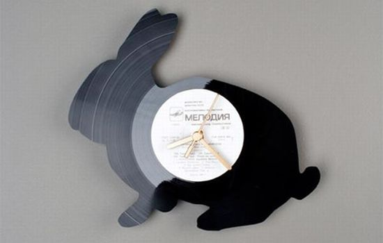 vinyl record clocks5