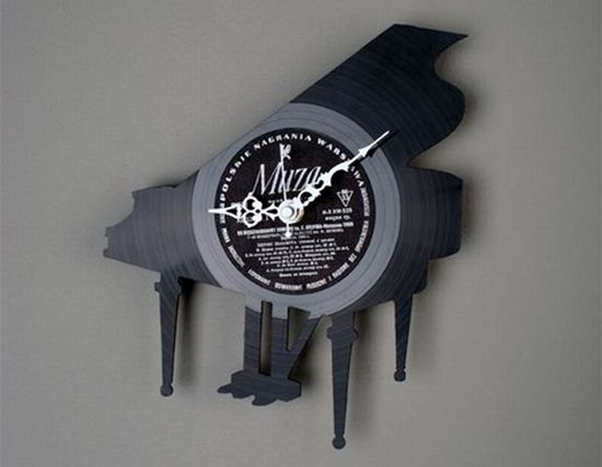 vinyl record clocks9