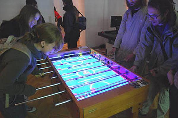 Virtual Foosball Table