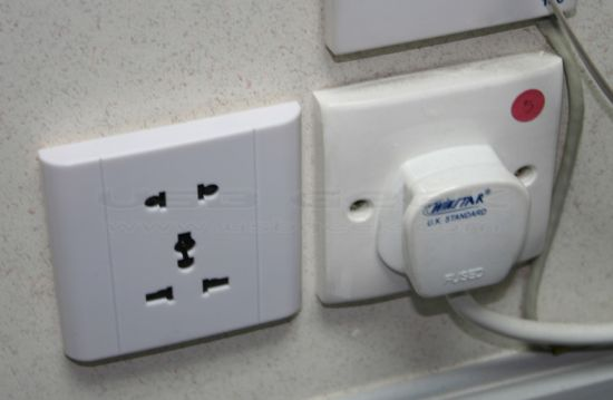voice activated wall socket