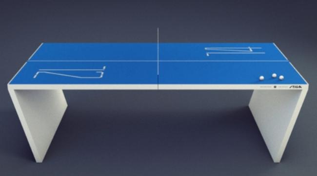 Waldner: Smart ping pong table