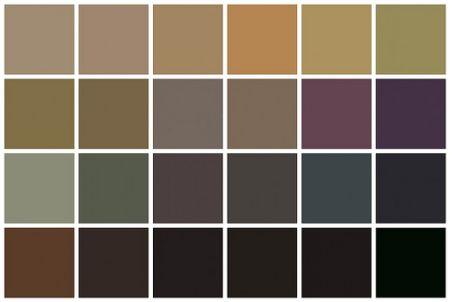 wall color palette