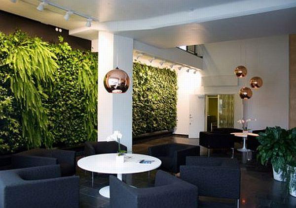 Wall Garden for Indoor Space