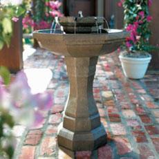 warwick solar fountain