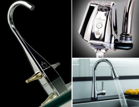 water saving faucets