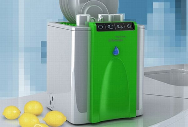 Water saving dishwasher by Alexey Danilin