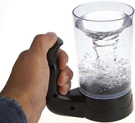 waterspout mixing cup