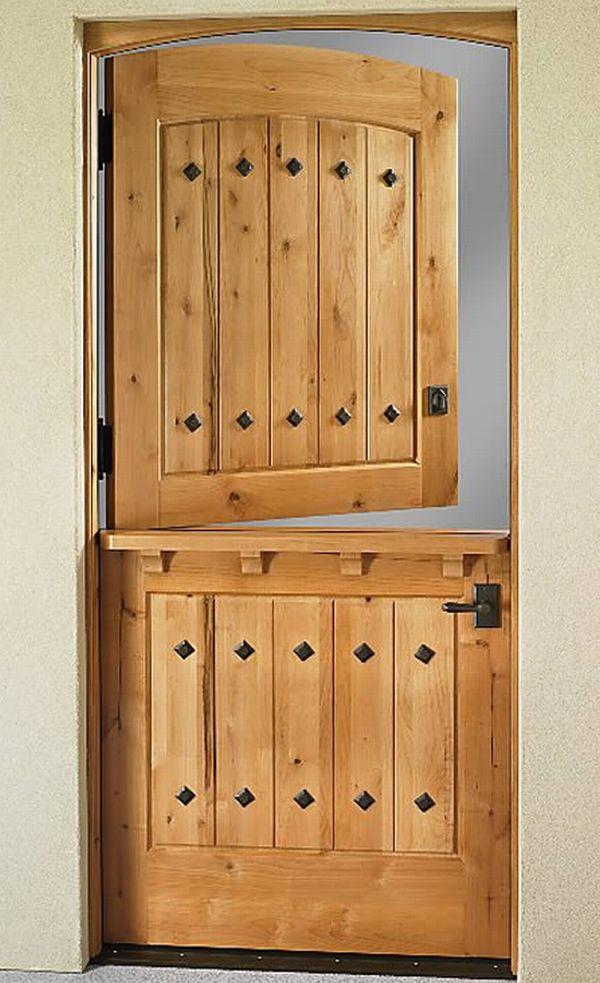 Weather Shield Dutch Door