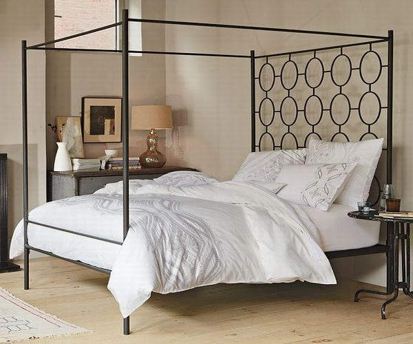 West Elm Ellipse Canopy Bed