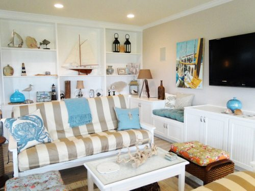Design ideas for beach themed homes